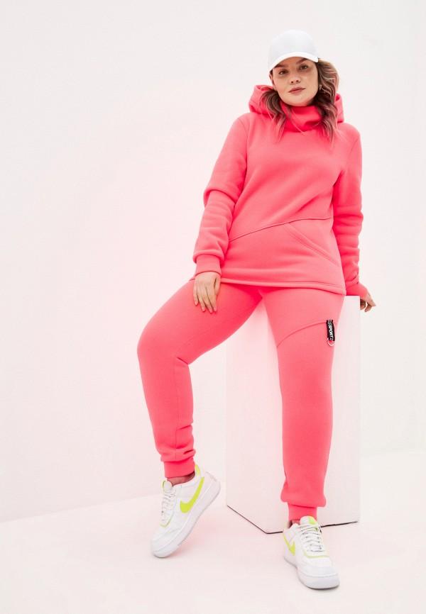 женский спортивный костюм sparada, розовый