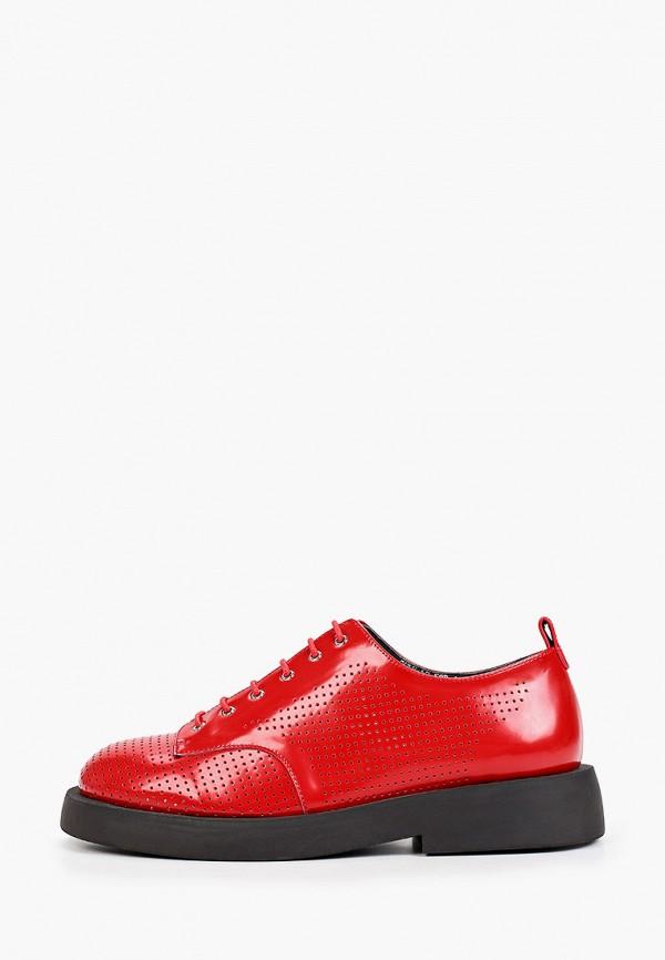 женские низкие ботинки graciana, красные