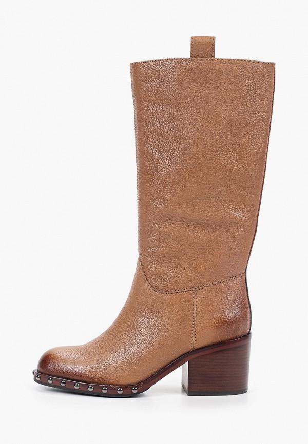 женские сапоги graciana, коричневые
