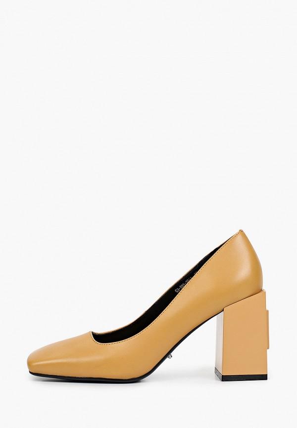 женские туфли с закрытым носом graciana, коричневые
