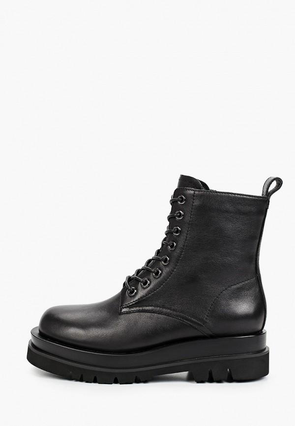 женские высокие ботинки graciana, черные