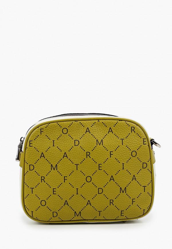 женская сумка через плечо fiato, разноцветная