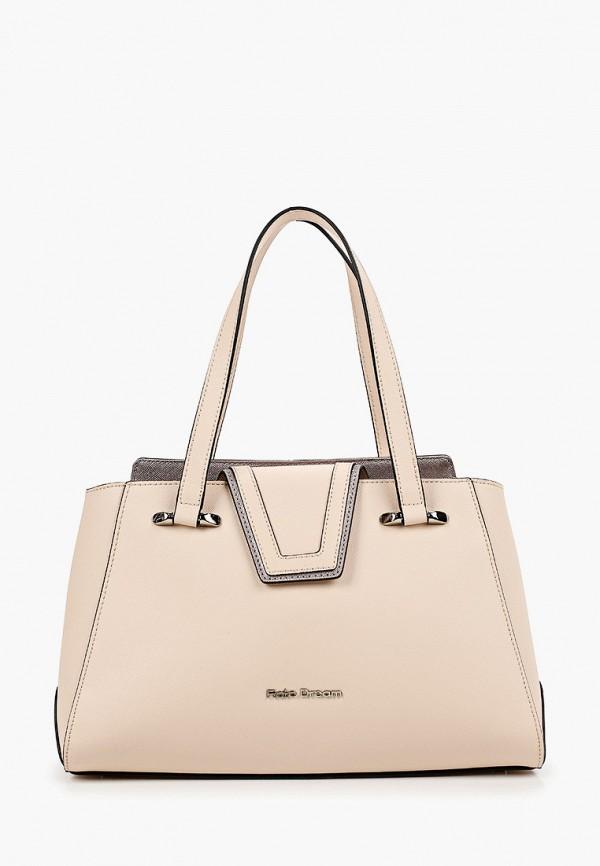 женская сумка с ручками fiato, розовая