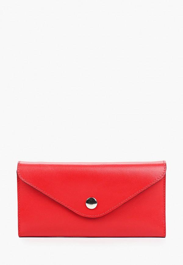 женский кошелёк asya malbershtein, красный