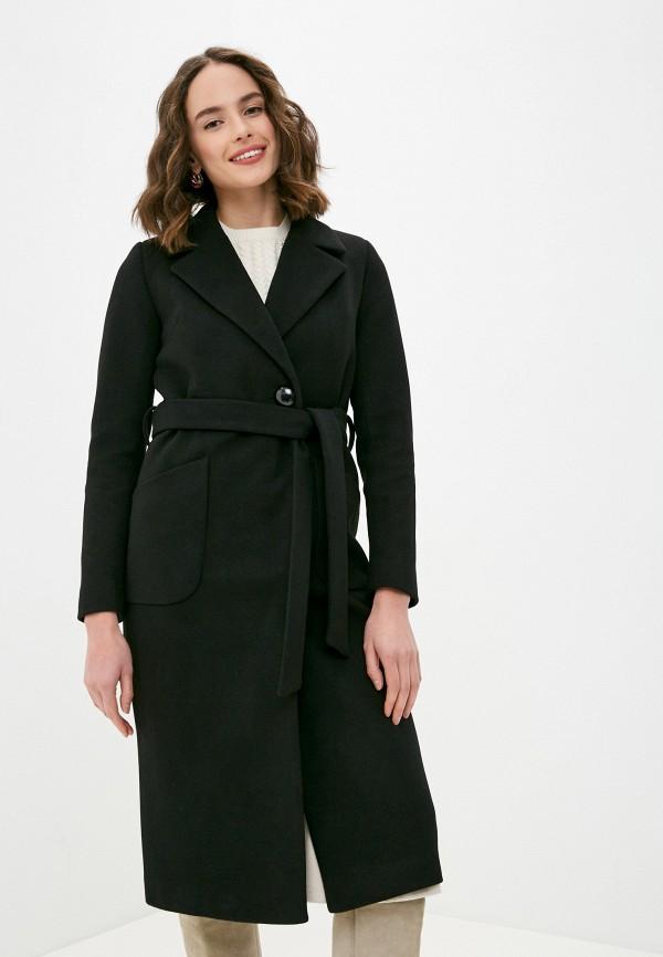 женское пальто meltem collection, черное