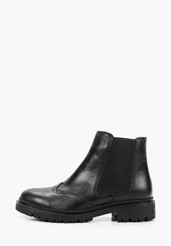 женские ботинки-челси calipso, черные