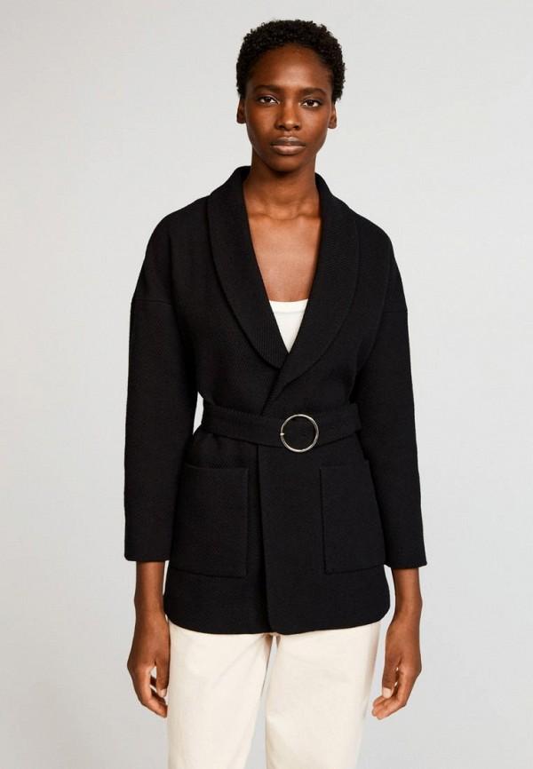 женское пальто claudie pierlot, черное
