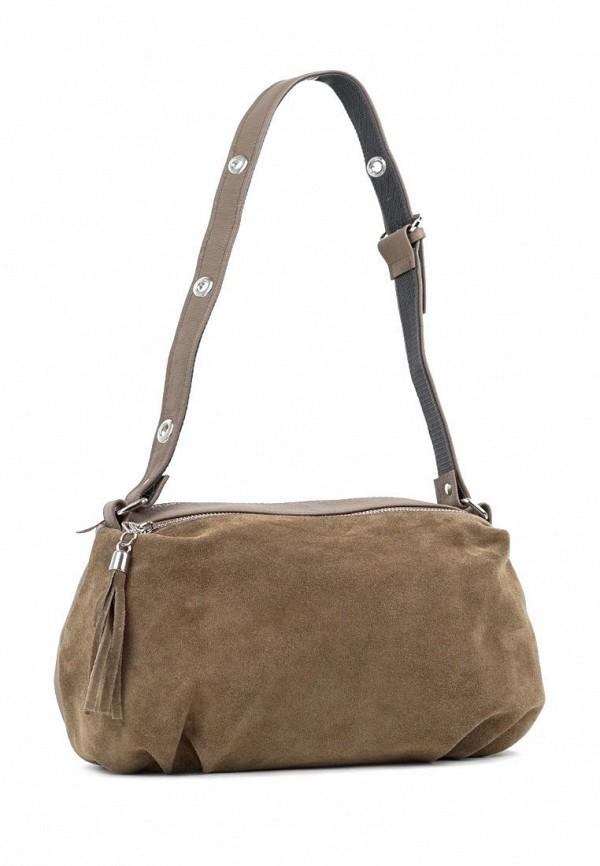 женская сумка с ручками vita, хаки