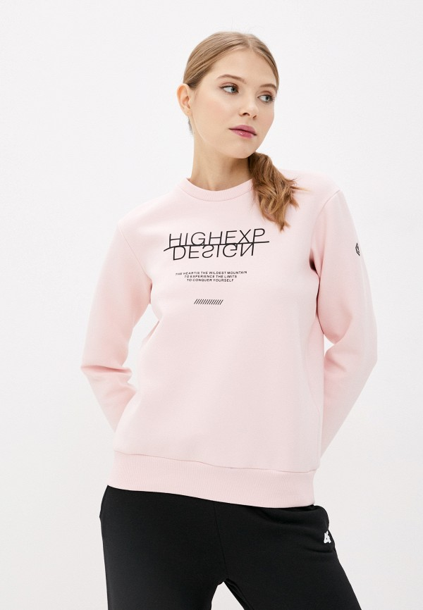 Свитшот High Experience High Experience  розовый фото