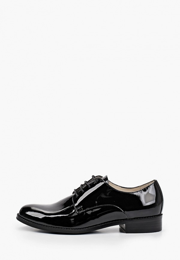 женские ботинки-оксфорды giotto, черные