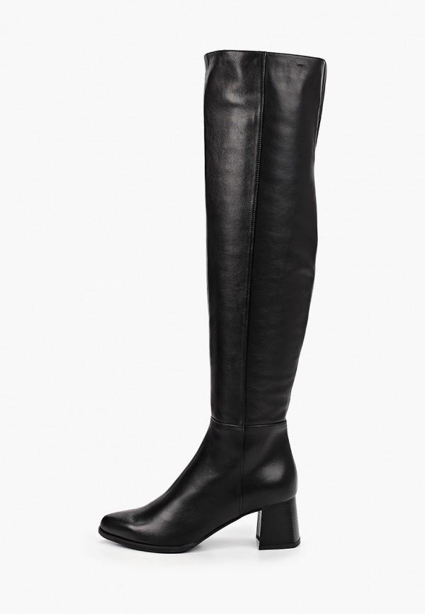женские ботфорты argo, черные