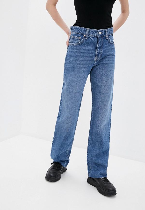 женские джинсы клеш mavi, синие