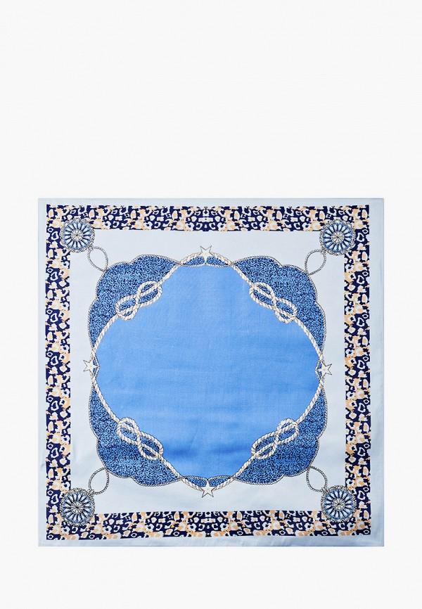 женский платок mon mua, голубой
