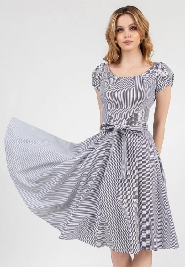 женское повседневные платье grey cat, разноцветное