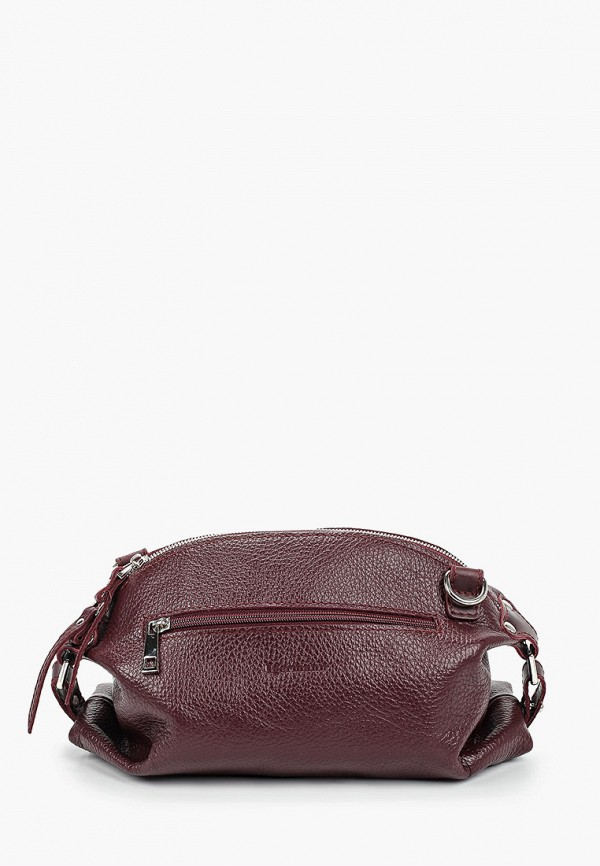 женская сумка через плечо igermann, бордовая