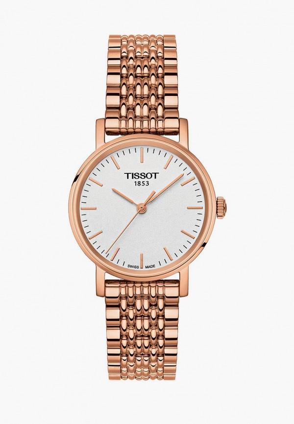 женские часы tissot, золотые