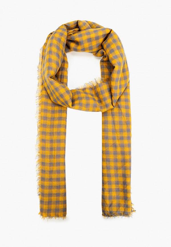 женский палантин модные истории, желтый