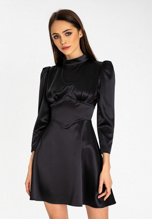 женское повседневные платье itelle, черное