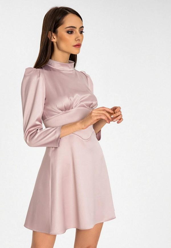 женское повседневные платье itelle, розовое