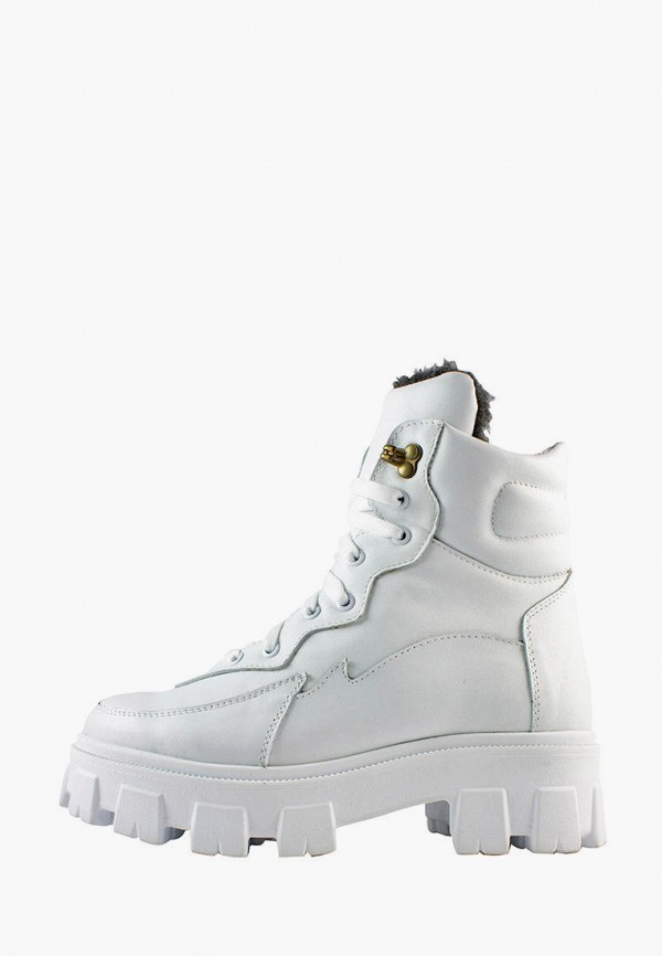 женские ботинки libero, белые