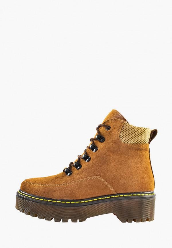 женские ботинки libero, коричневые