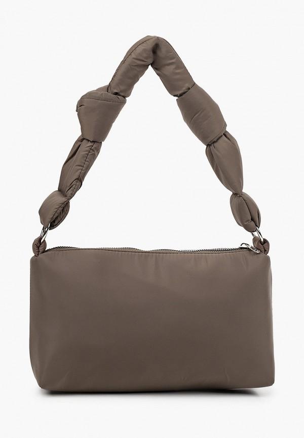 женская сумка с ручками befree, хаки
