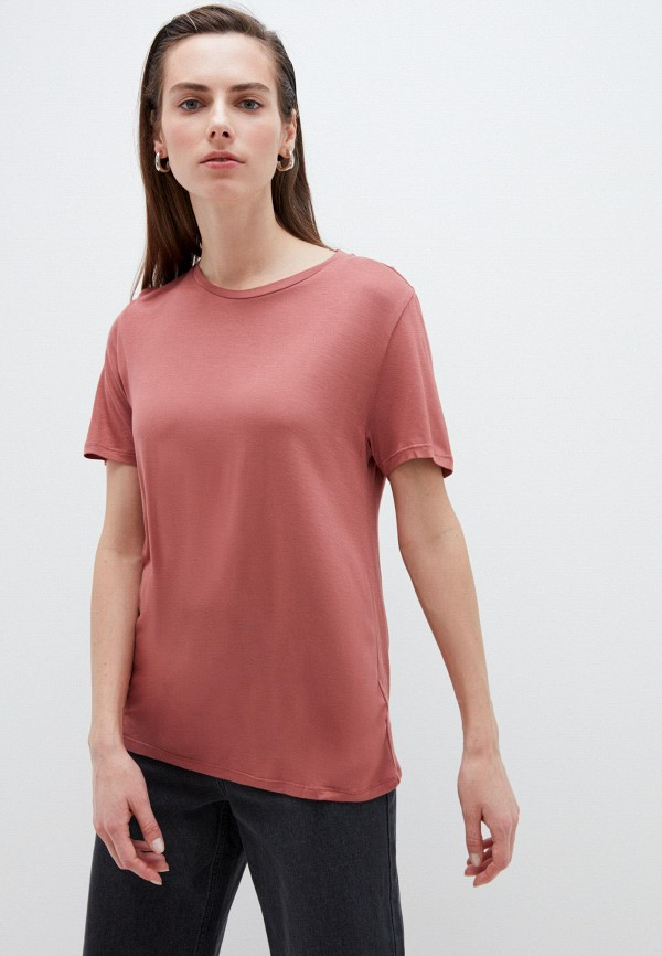 женская футболка zarina, розовая