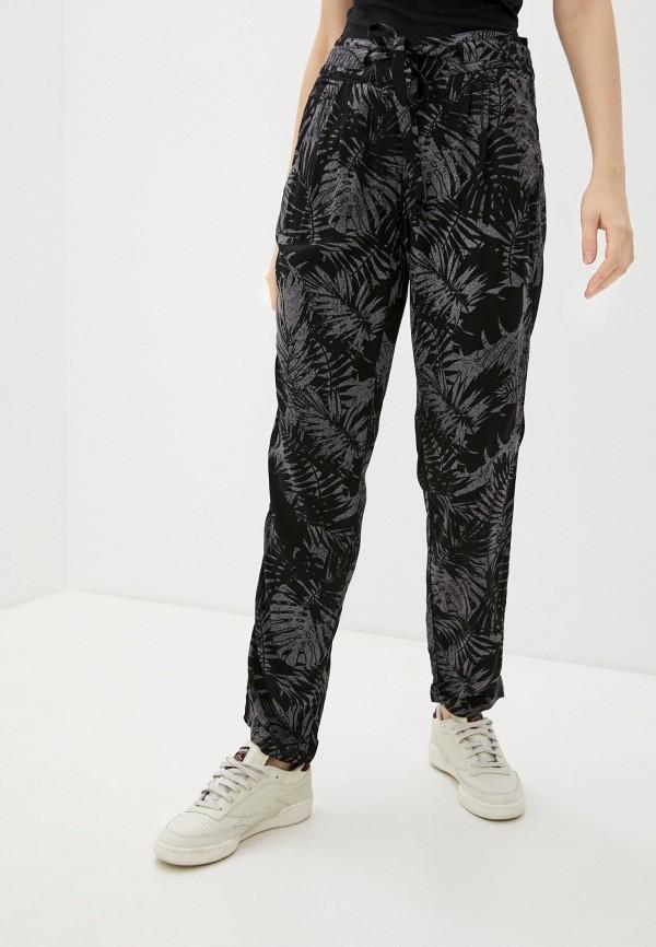 женские повседневные брюки termit, черные