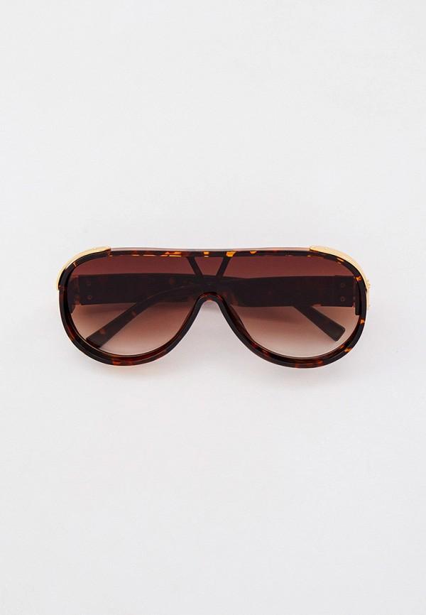 женские авиаторы солнцезащитные очки bocciolo, коричневые