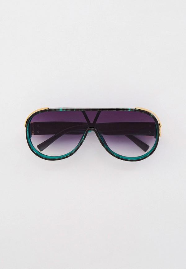 женские солнцезащитные очки bocciolo, зеленые