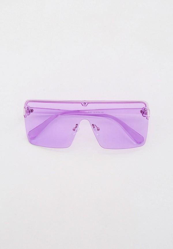 женские авиаторы солнцезащитные очки bocciolo, фиолетовые