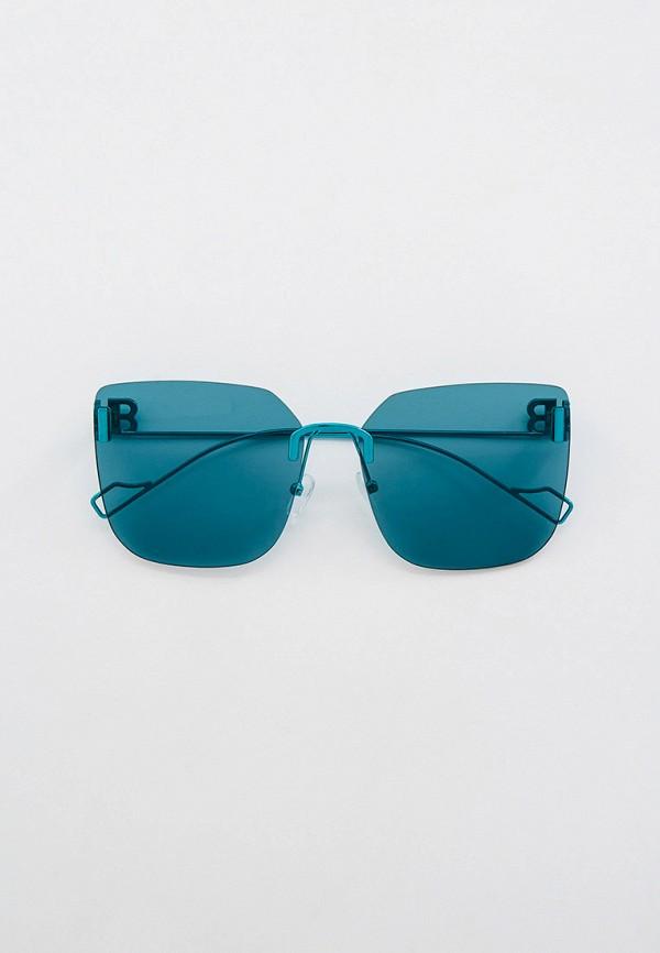 женские солнцезащитные очки кошачьи глаза bocciolo, голубые