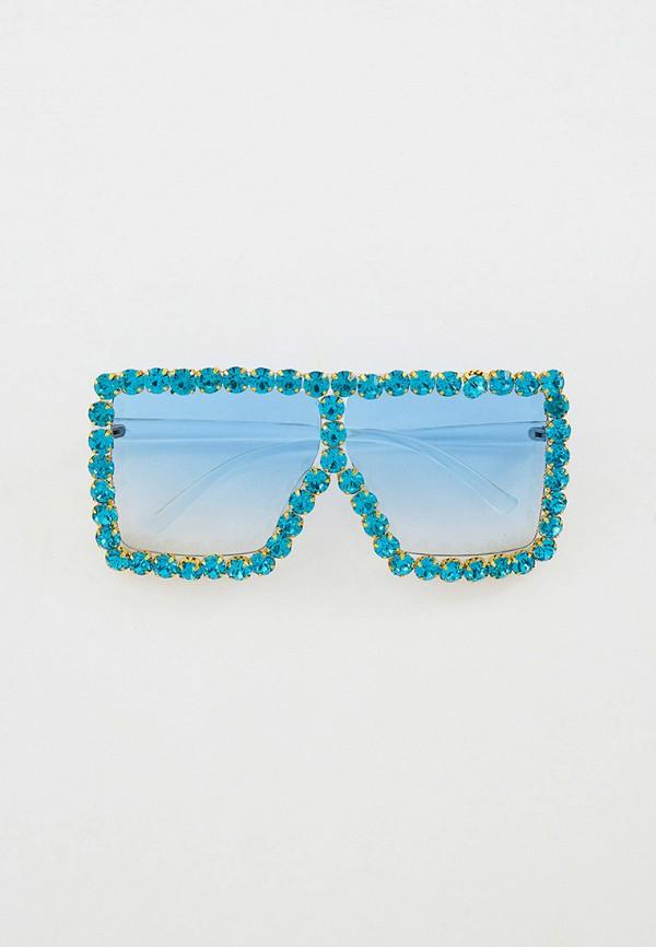 женские солнцезащитные очки bocciolo, голубые