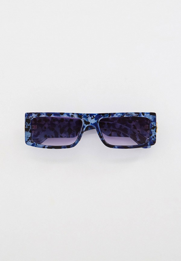 женские квадратные солнцезащитные очки bocciolo, синие