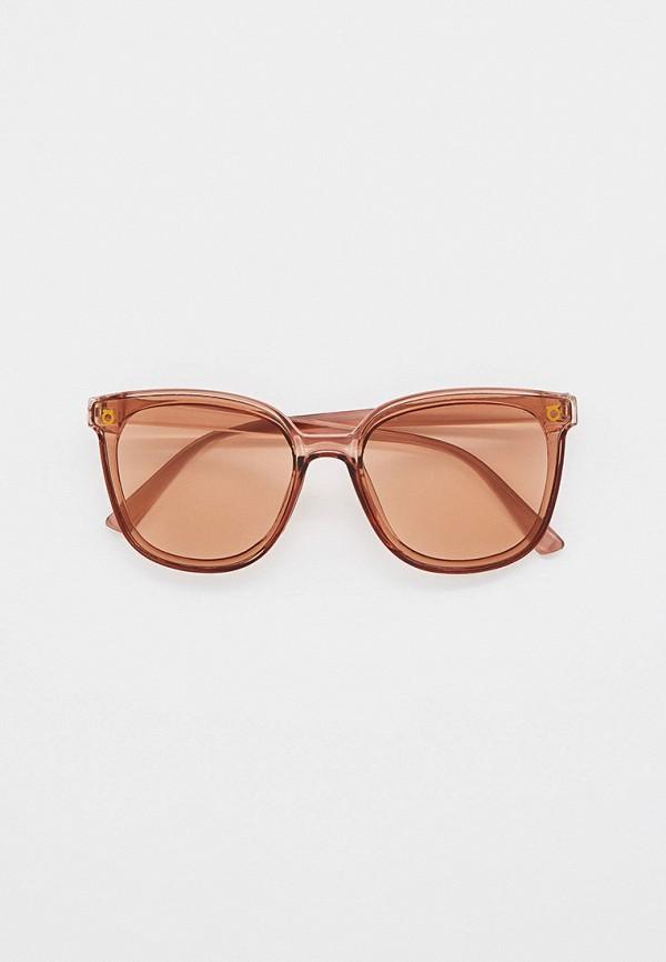 женские квадратные солнцезащитные очки bocciolo, коричневые
