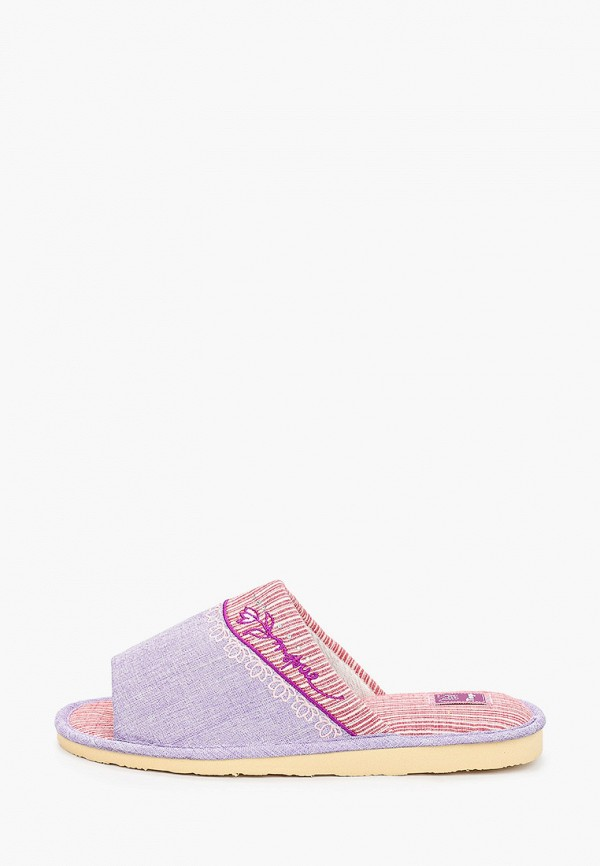 женские тапочки tingo, фиолетовые