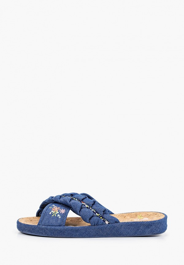 женские тапочки tingo, синие
