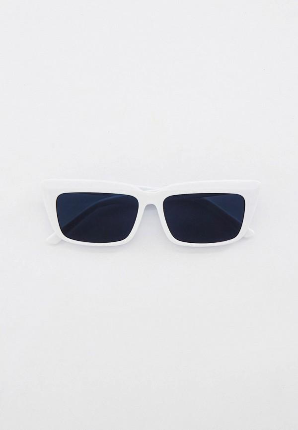 женские квадратные солнцезащитные очки bocciolo, белые