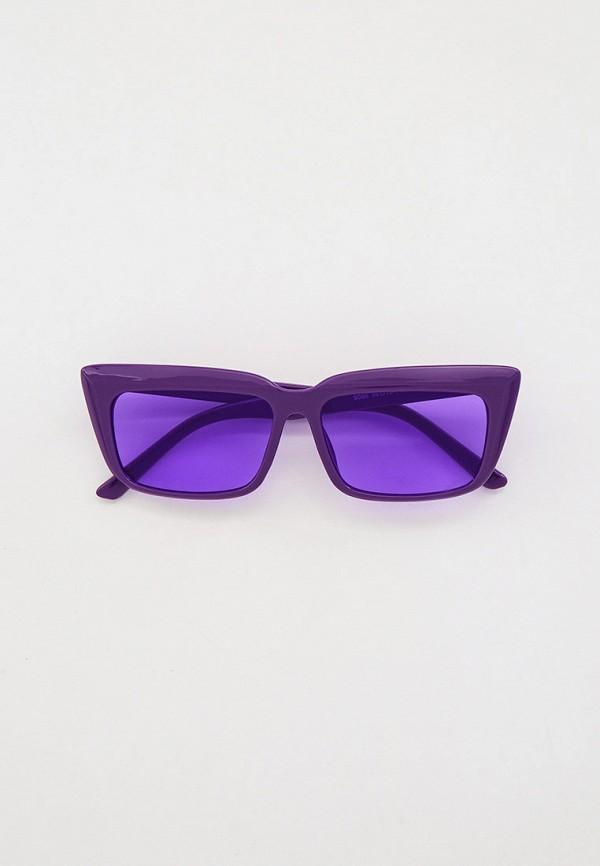 женские солнцезащитные очки кошачьи глаза bocciolo, фиолетовые