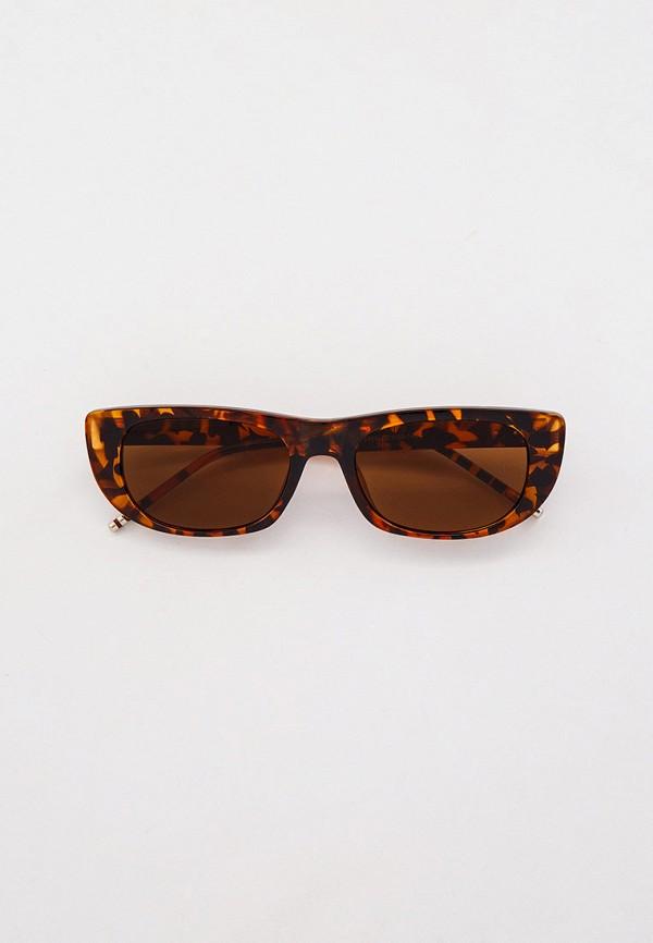 женские солнцезащитные очки bocciolo, коричневые