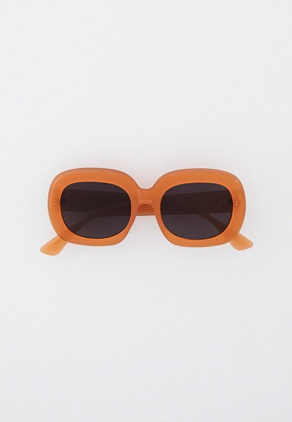 женские квадратные солнцезащитные очки bocciolo, бежевые