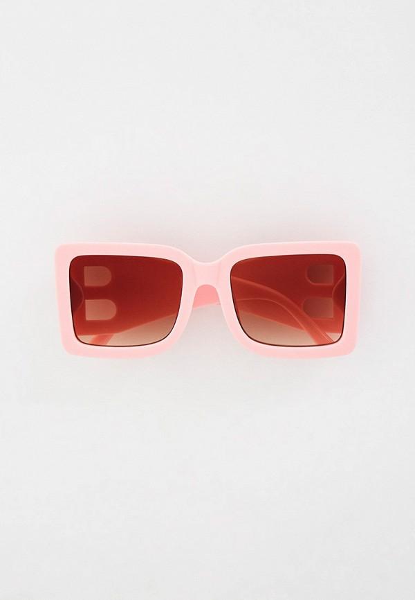 женские квадратные солнцезащитные очки bocciolo, розовые