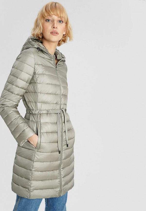 женская куртка o'stin, зеленая