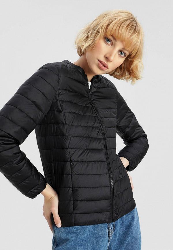 женская куртка o'stin, черная