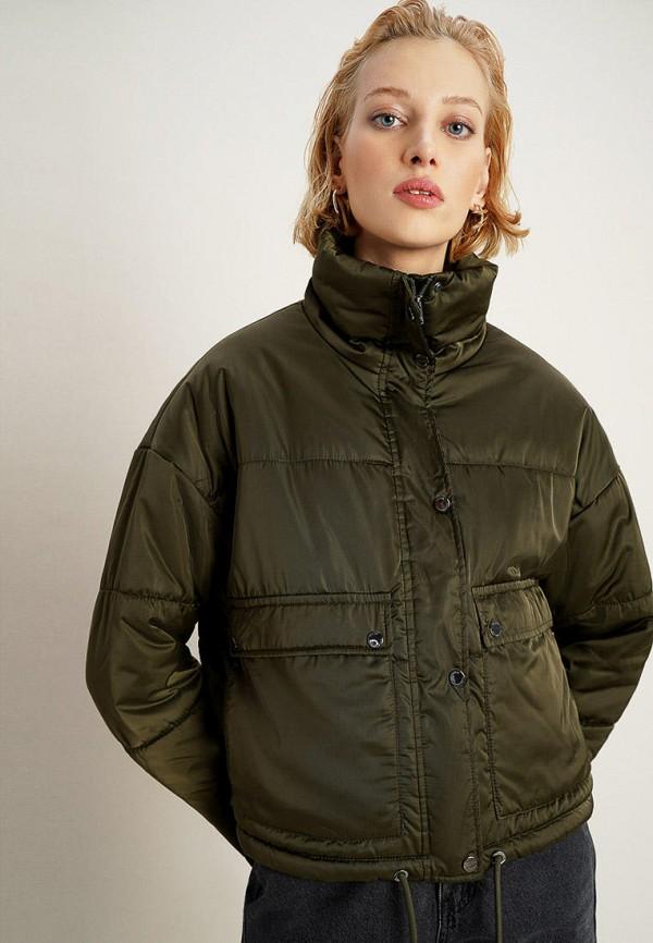 женская куртка o'stin, хаки