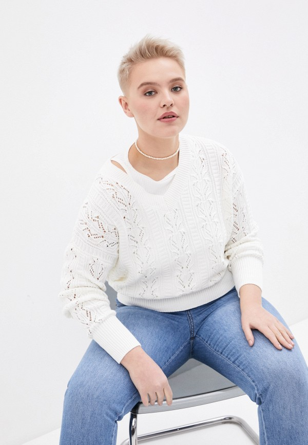 женский пуловер concept club, бежевый
