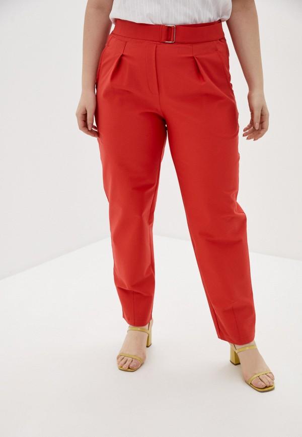 женские зауженные брюки olsi, красные