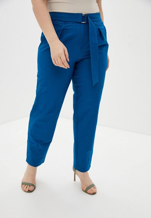 женские брюки джоггеры olsi, синие