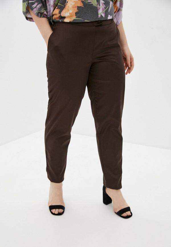 женские повседневные брюки olsi, коричневые