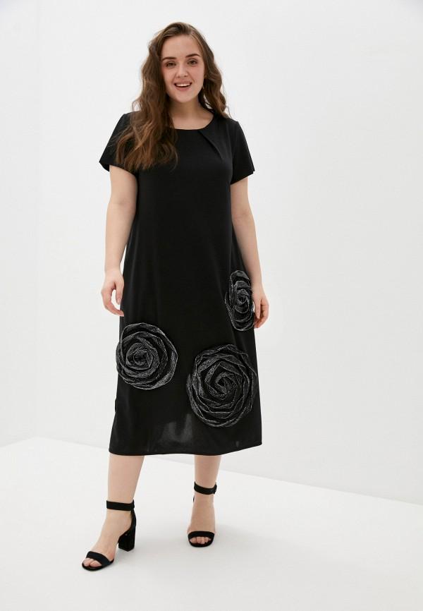 женское повседневные платье olsi, черное